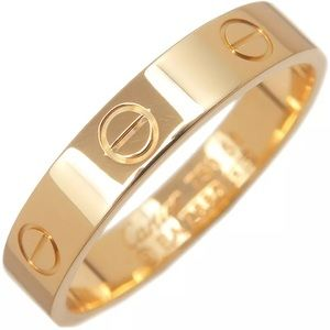 Authentic Cartier 18k yellow gold love ring